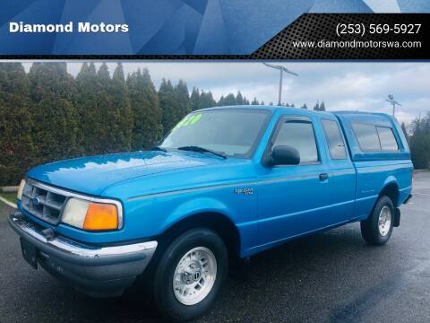1994 Ford Ranger for sale at Diamond Motors in Lakewood WA