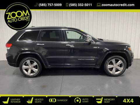 2014 Jeep Grand Cherokee for sale at ZoomAutoCredit.com in Elba NY