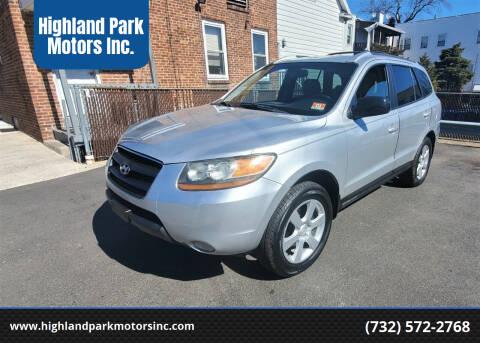2009 Hyundai Santa Fe for sale at Highland Park Motors Inc. in Highland Park NJ