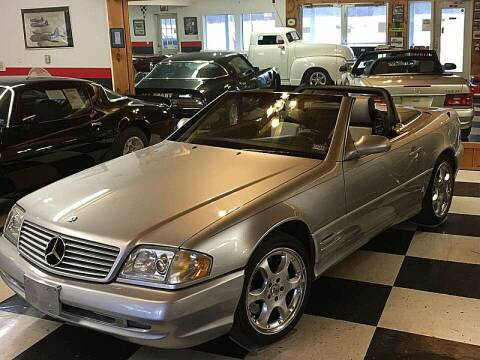 2002 Mercedes-Benz SL-Class for sale at AB Classics in Malone NY