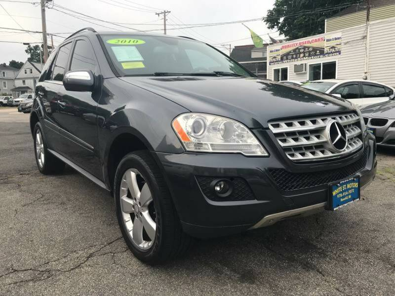 2010 Mercedes-Benz M-Class for sale at White St. Motors in Haverhill MA