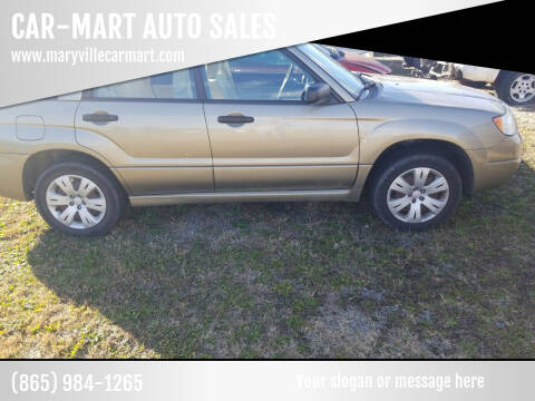 2008 Subaru Forester for sale at CAR-MART AUTO SALES in Maryville TN