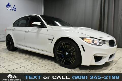2017 BMW M3 for sale at AUTO HOLDING in Hillside NJ