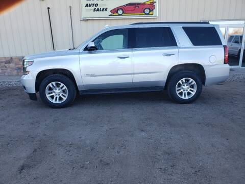 2018 Chevrolet Tahoe for sale at Lashley Auto Sales in Mitchell NE