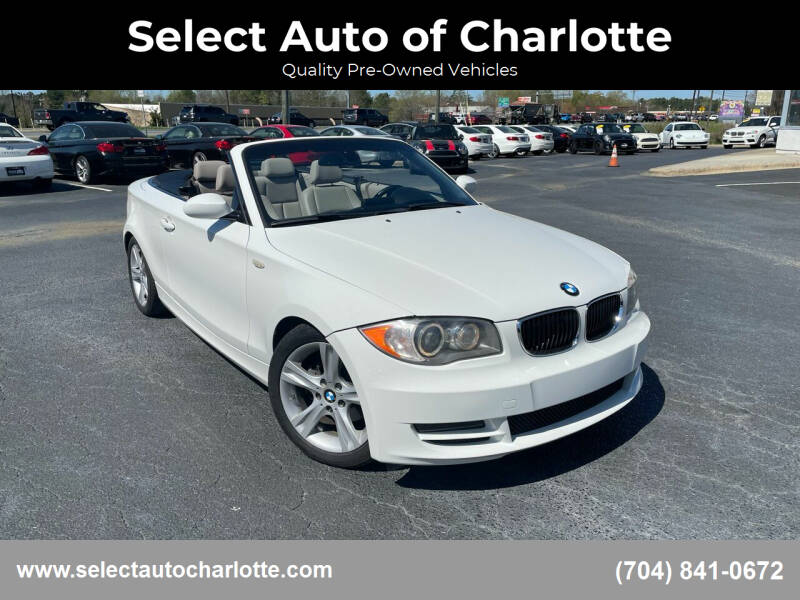 2008 BMW 1 Series for sale at Select Auto of Charlotte in Matthews NC