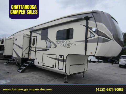 2018 Jayco North Point for sale at CHATTANOOGA CAMPER SALES in Chattanooga TN