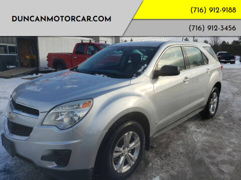 2011 Chevrolet Equinox for sale at DuncanMotorcar.com in Buffalo NY