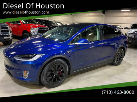 2017 Tesla Model X for sale at Diesel Of Houston in Houston TX