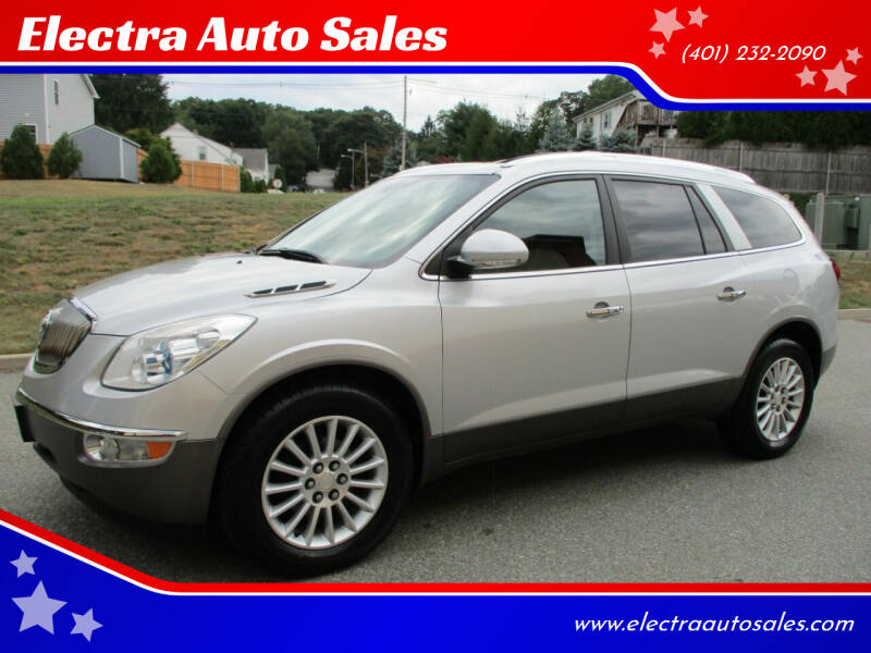 2012 Buick Enclave for sale at Electra Auto Sales in Johnston RI
