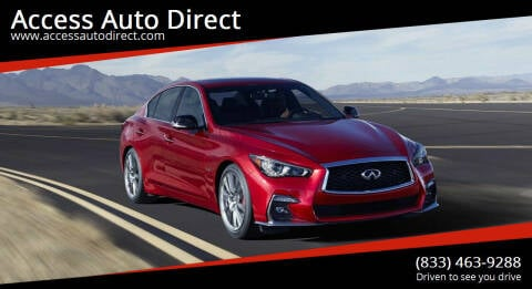 2019 Infiniti Q50 for sale at Access Auto Direct in Baldwin NY