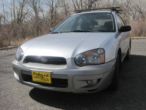 2005 Subaru Impreza for sale at Pollard Brothers Motors in Montrose CO