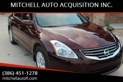 2012 Nissan Altima for sale at MITCHELL AUTO ACQUISITION INC. in Edgewater FL