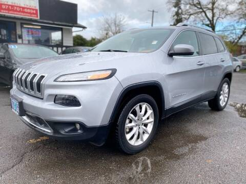2014 Jeep Cherokee for sale at Universal Auto INC in Salem OR