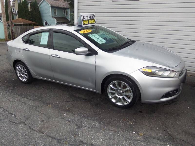 2013 Dodge Dart for sale at Fulmer Auto Cycle Sales - Fulmer Auto Sales in Easton PA