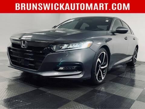 2018 Honda Accord for sale at Brunswick Auto Mart in Brunswick OH