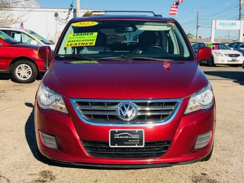 2012 Volkswagen Routan for sale at Cape Cod Cars & Trucks in Hyannis MA