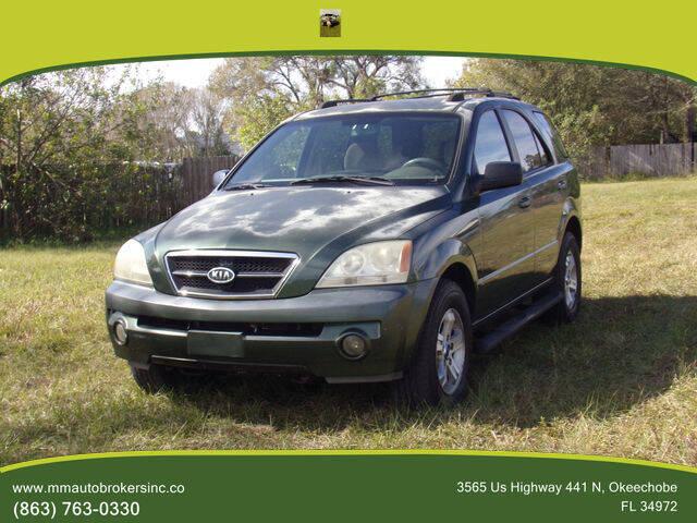 2004 Kia Sorento for sale at M & M AUTO BROKERS INC in Okeechobee FL