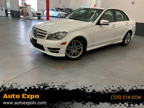 2013 Mercedes-Benz C-Class for sale at Auto Expo in Las Vegas NV