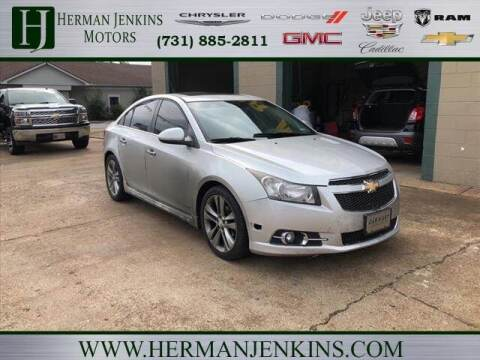 2013 Chevrolet Cruze for sale at Herman Jenkins Used Cars in Union City TN