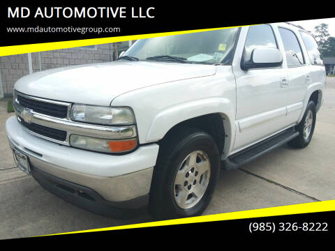 2006 Chevrolet Tahoe for sale at MD AUTOMOTIVE LLC in Slidell LA