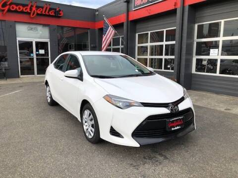2017 Toyota Corolla for sale at Goodfella's  Motor Company in Tacoma WA