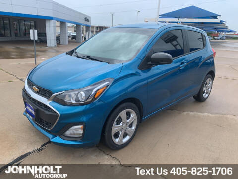 2019 Chevrolet Spark for sale at JOHN HOLT AUTO GROUP, INC. in Chickasha OK