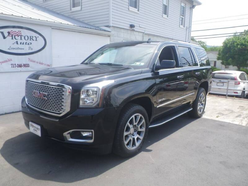 2016 GMC Yukon for sale at VICTORY AUTO in Lewistown PA