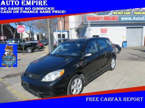 2003 Toyota Matrix for sale at Auto Empire in Brooklyn NY