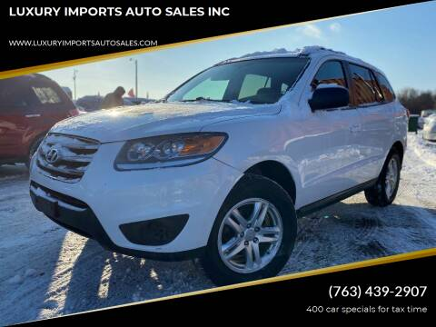 2012 Hyundai Santa Fe for sale at LUXURY IMPORTS AUTO SALES INC in North Branch MN