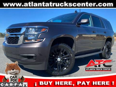 2018 Chevrolet Tahoe for sale at ATLANTA TRUCK CENTER LLC in Brookhaven GA
