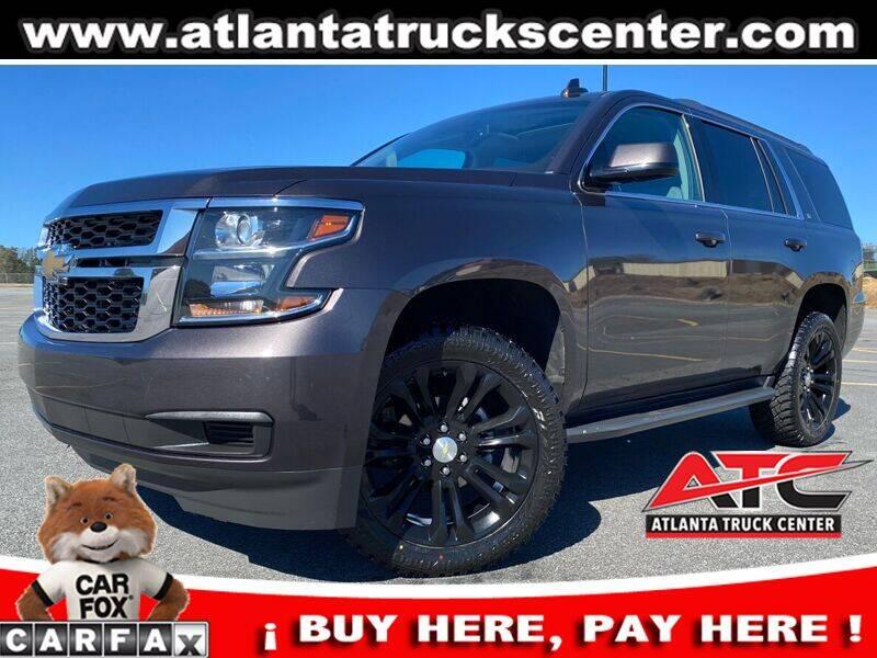 2018 Chevrolet Tahoe for sale at ATLANTA TRUCK CENTER LLC in Brookhaven GA