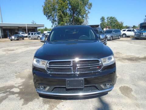 2015 Dodge Durango for sale at J & F AUTO SALES in Houston TX