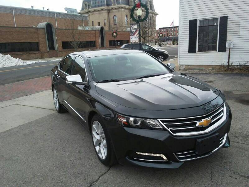 2014 Chevrolet Impala for sale at BELLEFONTAINE MOTOR SALES in Bellefontaine OH