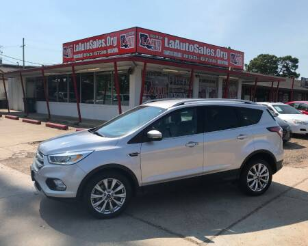 2017 Ford Escape for sale at LA Auto Sales in Monroe LA