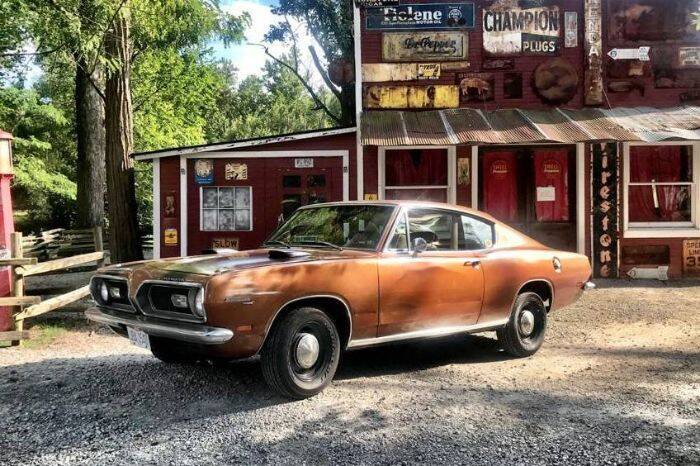 1969 Plymouth Barracuda for sale in Cadillac, MI