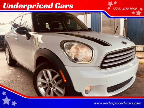2014 MINI Countryman for sale at Underpriced Cars in Marietta GA
