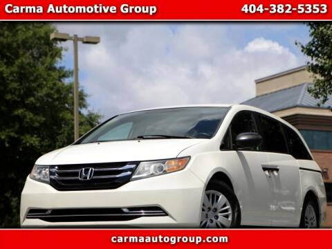 2015 Honda Odyssey for sale at Carma Auto Group in Duluth GA