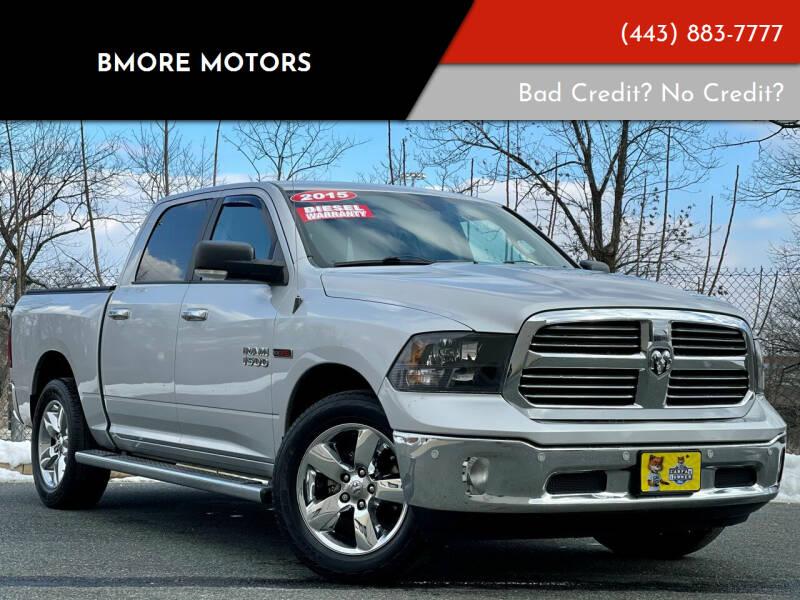 2015 RAM Ram Pickup 1500 for sale at Bmore Motors in Baltimore MD