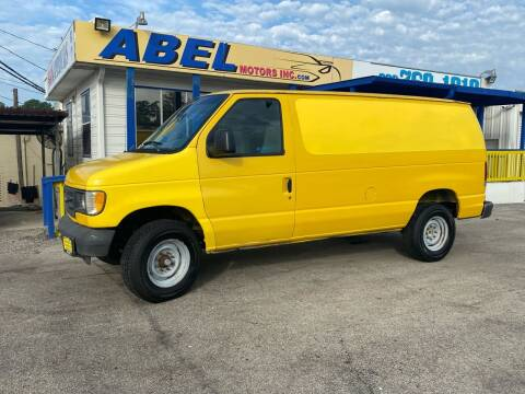2006 Ford E-Series Cargo for sale at Abel Motors, Inc. in Conroe TX