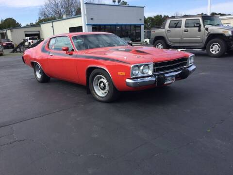 1973 Plymouth Roadrunner for sale at Classic Connections in Greenville NC