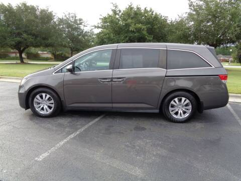 2016 Honda Odyssey for sale at BALKCUM AUTO INC in Wilmington NC