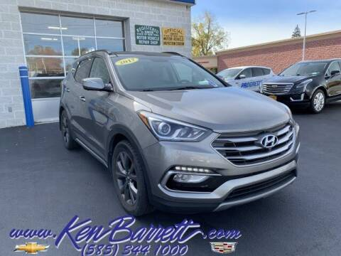 2017 Hyundai Santa Fe Sport for sale at KEN BARRETT CHEVROLET CADILLAC in Batavia NY