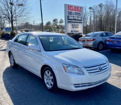 2007 Toyota Avalon for sale at Reliable Cars & Trucks LLC in Raleigh NC