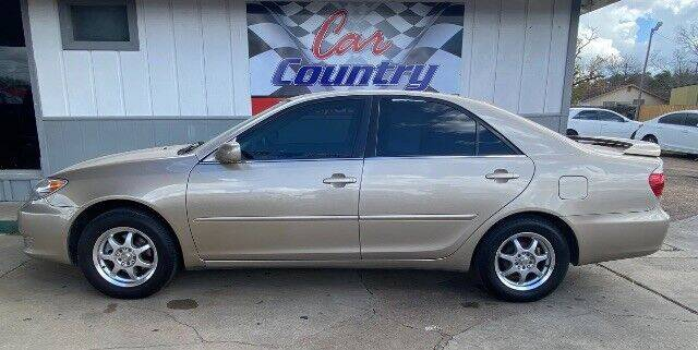 2005 Toyota Camry for sale at Car Country in Victoria TX