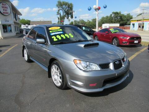 2007 Subaru Impreza for sale at Auto Land Inc in Crest Hill IL