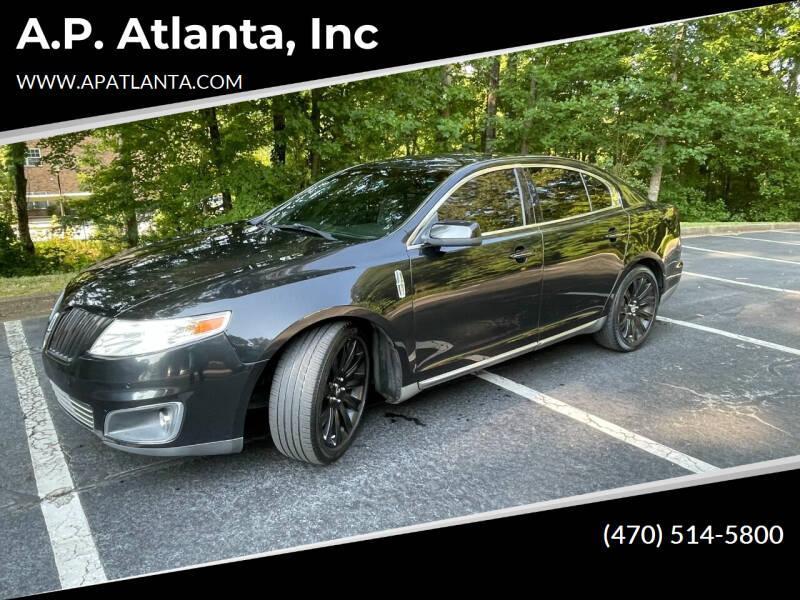 2011 Lincoln MKS for sale at A.P. Atlanta, Inc in Sandy Springs GA