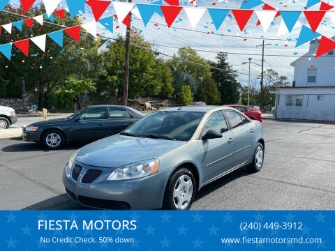 2008 Pontiac G6 for sale at FIESTA MOTORS in Hagerstown MD