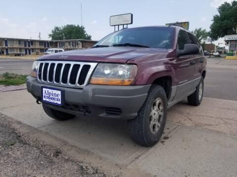 2000 Jeep Grand Cherokee for sale at Alpine Motors LLC in Laramie WY