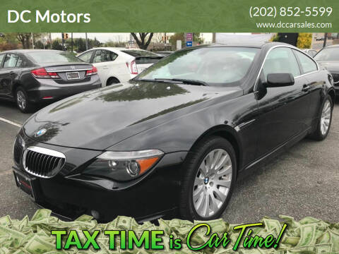 2004 BMW 6 Series for sale at DC Motors in Springfield VA