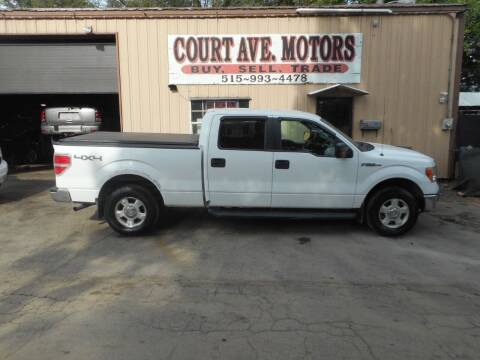 2010 Ford F-150 for sale at Court Avenue Motors in Adel IA